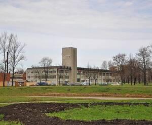 Территория завода «Кулон»