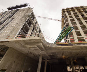 ЖК «Воробьев дом»: строительная площадка