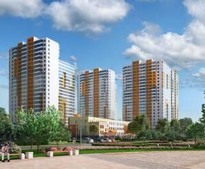 ЖК «UP-квартал «Комендантский» (визуализация)
