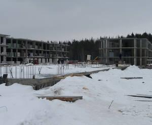 МЖК «Заречье» (Егорьевск): продолжается строительство комплекса (февраль 2015)