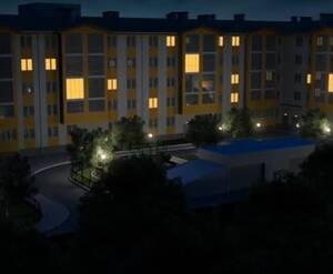 Малоэтажный ЖК «на Микояна, 54-57 (Сходня)»: визуализация
