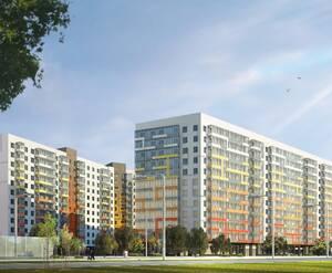 Жилой комплекс в микрорайоне Шушары (визуализация)
