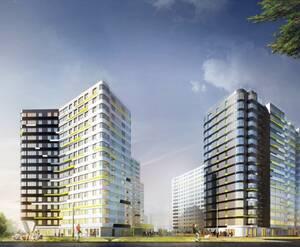 Жилой комплекс на Львовской улице, 21 (визуализация)