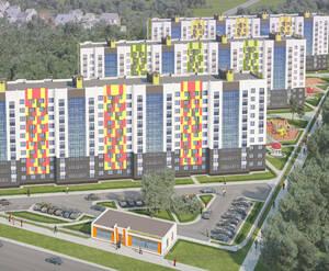 ЖК «Белорусский квартал» (Обнинск): визуализация