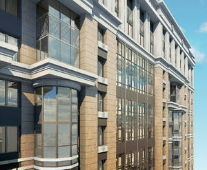 ЖК «Дом на Фрунзенской»: фасад визуализация