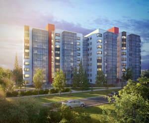 ЖК «Новый дом в Луге»: общий вид (визуализация)