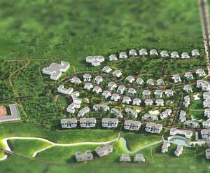 МФК Gatchina Gardens: визуализация, общий вид