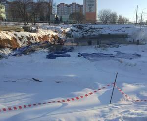 ЖК на улице Текстильщиков: дом 44 на стадии котлована