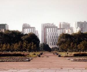 Жилой комплекс у Пулковского парка (визуализация)