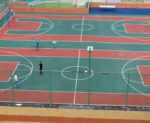 ЖК «Пятиречье»: спортивная площадка на территории комплекса