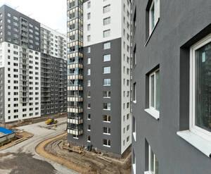 Жилой комплекс «Коллонтай, 2»: ход строительства (сентябрь 2017)