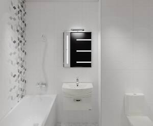 ЖК «Энфилд»: визуализация ванной(современный стиль)
