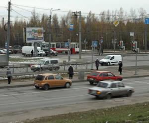 """Трамвайная остановка у ЖК """"Восток"""""""