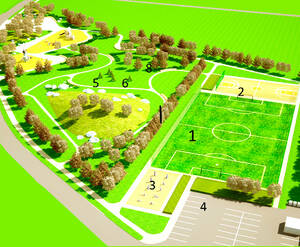КП «Финская деревня Юг»: проект парковой зоны