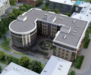Визуализация ЖК на Приморском проспекте дом 43