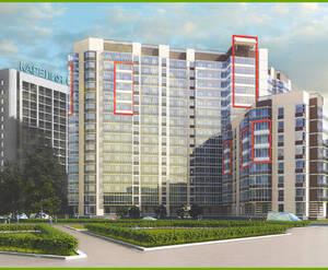 ЖК «Дом на Тухачевского» план фасада