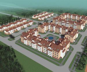 <p>План застройки территории жилого комплекса &laquo;Рай в шалаше&raquo;</p>