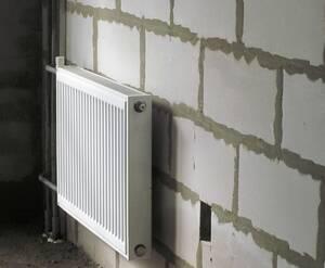 <p>Установлены радиаторы</p>