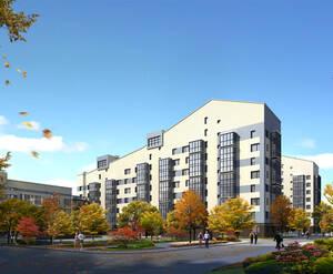 <p>Визуализация проекта жилого комплекса «Жемчужная симфония»</p>