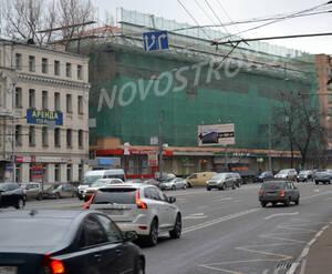 Улица вдоль ЖК «Николаевский дом» (01.11.12)