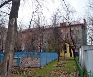 Придомовая территория ЖК «Николаевский дом» (01.11.12)
