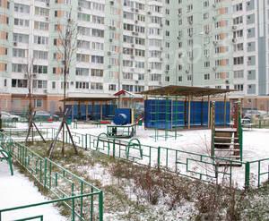 Жилой комплекс на улице Академика Опарина (01.12.12)
