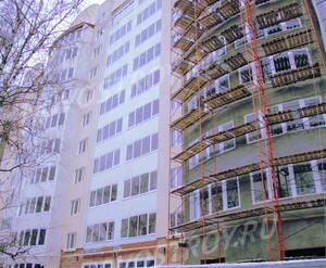 Фасад ЖК «Бородинский сад» (02.12.12)
