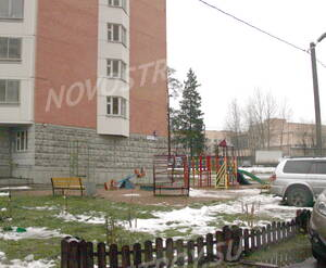 Дворовая территория ЖК «Пятница» (04.10.12)