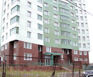 Фасад корпуса ЖК «Ильинский парк» (14.10.12)