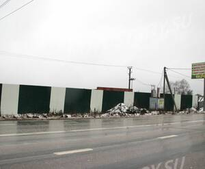 Автомагистраль, ведущая к поселку «Новое Бакеево»