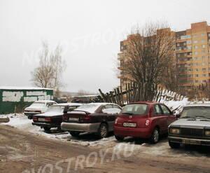 Околодомовое пространство ЖК «Дом на ул. Ленинградская, 14» (25.12.12)