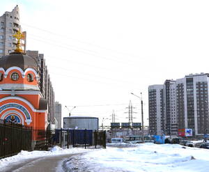 Окрестности жилого комплекса «Южная Корона» (25.02.2013)