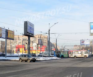 Окрестности жилого комплекса «Славбург» (24.02.2013)