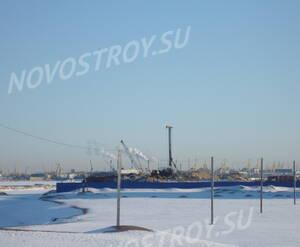 Строительная площадка жилого комплекса «Артур Грей» (10.03.2013)