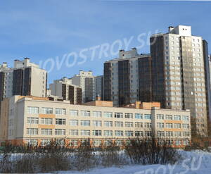 Окрестности жилого комплекса «Радуга» (24.02.2013)