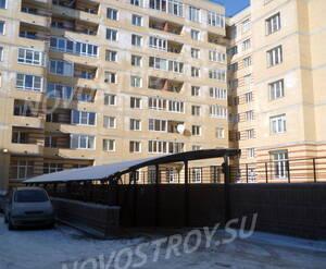 Подземная парковка жилого комплекса «Привилегия» (10.02.2013)