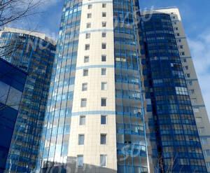 Фасад жилого комплекса «Зенит» (24.02.2013)
