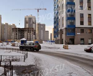 Двор жилого комплекса «Тринити» (16.02.2013)