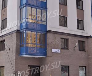 Фасад жилого комплекса «Тринити» (16.02.2013)