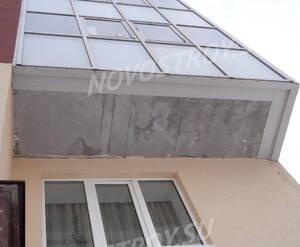 Фасад жилого комплекса «Зодиак» (20.02.2013)