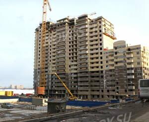 Строительство жилого комплекса «Северные высоты 2» (15.04.2013)
