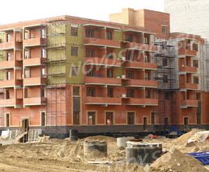 Строительство ЖК «Корона» (15.05.2013)