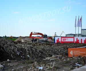 Место строительства ЖК «Южная акватория» (15.05.2013)