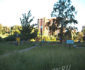 Парк рядом с ЖК «Каскад» (22.06.2013 г.)