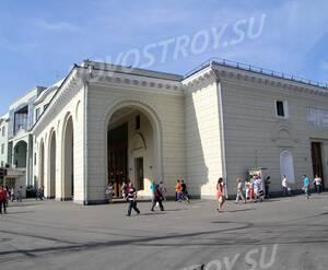 Метро около ЖК «Остоженка, 49» (10.08.2013 г.)