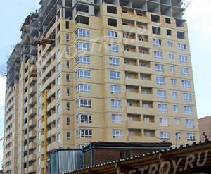 Строительство ЖК «Спутник» (10.08.2013 г.)
