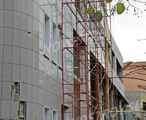 ЖК на ул. Билибина, дом 6 (31.10.2013 г.)