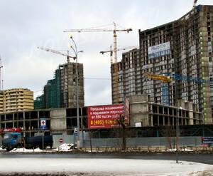Строительство паркинга МФК «Красный Кит» (25.12.2013 г.)