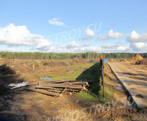 Место строительства ЖК «Воздух» (28.08.2014)