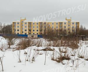 ЖК «Дом в поселке Горбунки»: общий вид на стройплощадку (01.02.15)